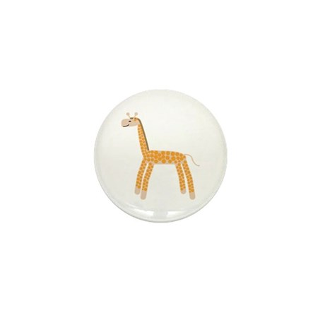 Giraffe Mini Button (100 pack)
