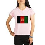 Afghanistan Flag Performance Dry T-Shirt