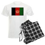 Afghanistan Flag Men's Light Pajamas