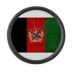 Afghanistan Flag Large Wall Clock