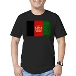 Afghanistan Flag Men's Fitted T-Shirt (dark)