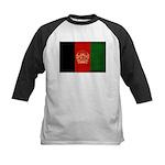 Afghanistan Flag Kids Baseball Jersey