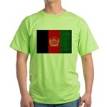 Afghanistan Flag Green T-Shirt