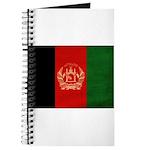 Afghanistan Flag Journal