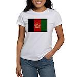 Afghanistan Flag Women's T-Shirt