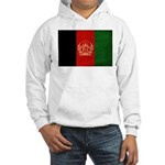 Afghanistan Flag Hooded Sweatshirt