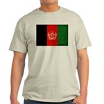 Afghanistan Flag Light T-Shirt