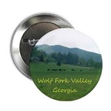 Grazing Cows In Wolf Fork Valley 2.25&quot; Button