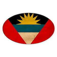 Antigua and Barbuda Flag Decal