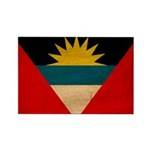 Antigua and Barbuda Flag Rectangle Magnet (10 pack