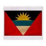 Antigua and Barbuda Flag Throw Blanket