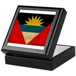 Antigua and Barbuda Flag Keepsake Box