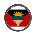 Antigua and Barbuda Flag Wall Clock