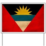 Antigua and Barbuda Flag Yard Sign