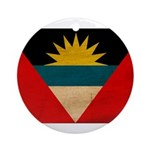 Antigua and Barbuda Flag Ornament (Round)