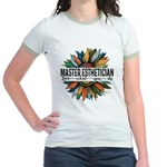 Antigua and Barbuda Flag Women's Raglan Hoodie