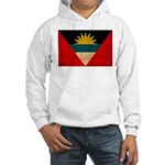 Antigua and Barbuda Flag Hooded Sweatshirt