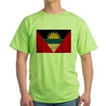 Antigua and Barbuda Flag Green T-Shirt