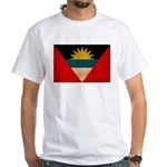 Antigua and Barbuda Flag White T-Shirt