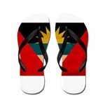 Antigua and Barbuda Flag Flip Flops