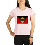 Antigua and Barbuda Flag Performance Dry T-Shirt