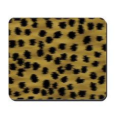 Cheetah Animal Print Pattern Mousepad