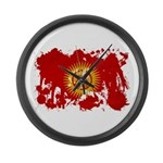 Kyrgyzstan Flag Large Wall Clock