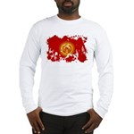 Kyrgyzstan Flag Long Sleeve T-Shirt