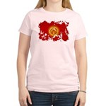 Kyrgyzstan Flag Women's Light T-Shirt