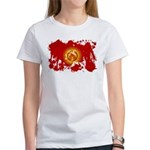 Kyrgyzstan Flag Women's T-Shirt