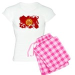Kyrgyzstan Flag Women's Light Pajamas