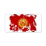 Kyrgyzstan Flag Aluminum License Plate