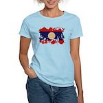 Laos Flag Women's Light T-Shirt