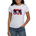 Laos Flag Women's T-Shirt