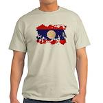 Laos Flag Light T-Shirt