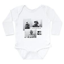 Cute Michele obama Long Sleeve Infant Bodysuit