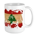 Lebanon Flag Large Mug