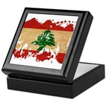 Lebanon Flag Keepsake Box