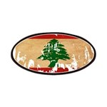 Lebanon Flag Patches