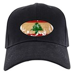 Lebanon Flag Black Cap
