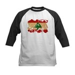 Lebanon Flag Kids Baseball Jersey
