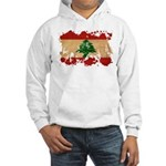 Lebanon Flag Hooded Sweatshirt