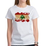 Lebanon Flag Women's T-Shirt