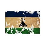 Lesotho Flag Rectangle Magnet (100 pack)