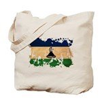 Lesotho Flag Tote Bag
