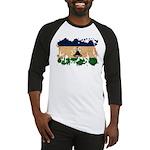 Lesotho Flag Baseball Jersey