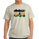 Lesotho Flag Light T-Shirt