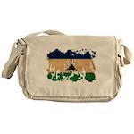 Lesotho Flag Messenger Bag