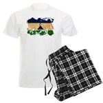 Lesotho Flag Men's Light Pajamas