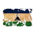 Lesotho Flag 38.5 x 24.5 Wall Peel